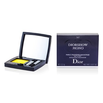 Christian Dior Diorshow Mono Wet & Dry Backstage Sombra de Ojos - # 547 Yellow  2.2g/0.07oz