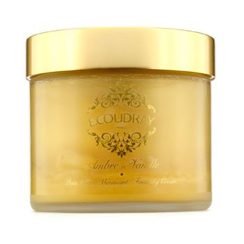E Coudray Ambre & Vanille Bath and Shower Foaming Cream (New Packaging)  250ml/8.4oz
