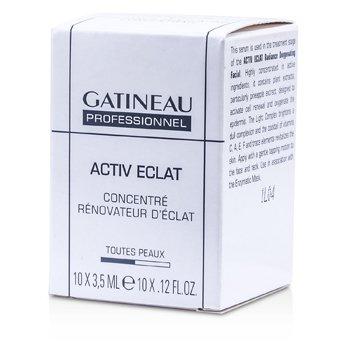 Gatineau Active Eclat Concentrador Renovador de Resplandor (Tamaño Salón)  10x3.5ml/0.12oz