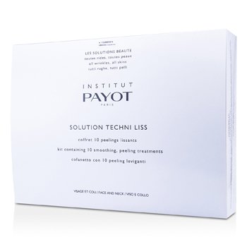 Payot Solution Techni Liss - Smoothing & Peeling Treatments For Face & Neck (Salon Product)  10treatments