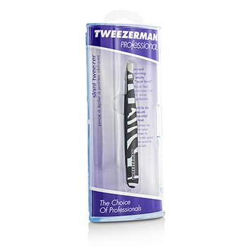Tweezerman Professional Slant Tweezer (Pattern Prints) - Animal Print/ Zebra