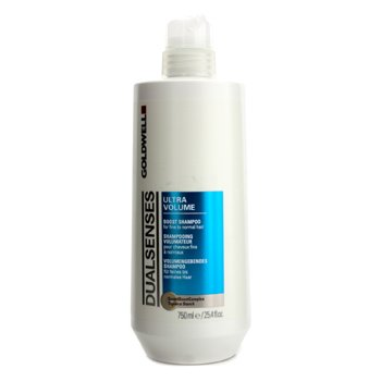 Goldwell Dual Senses Ultra Volume Boost Shampoo (For Fine to Normal Hair)  750ml/25.4oz