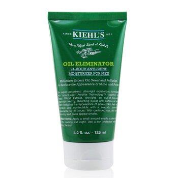 Kiehl's 24 hodinová hydratační péče pro eliminaci mazu a lesku Men's Oil Eliminator 24-Hour Anti-Shing Moisturizer  125ml/4.2oz