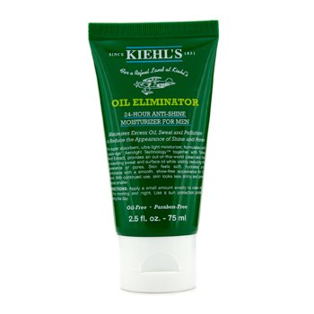 Kiehl's Men's Oil Eliminator Hidratante de 24-Horas Anti Brillo  75ml/2.5oz