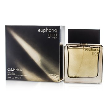 Calvin Klein Euphoria Gold Men Eau De Toilette Spray (Edición Limitada)  100ml/3.4oz