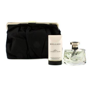 Bvlgari Mon Jasmin Noir Coffret: Eau De Parfum Spray 75ml/2.5oz + Scintillating Loción Corporal 75ml/2.5oz + Bolso  2pcs+1pouch