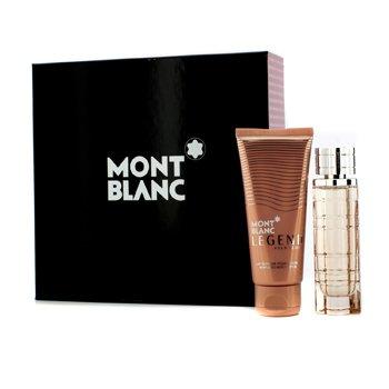 Mont Blanc Bộ Legend Pour Femme: Eau De Parfum Spray 50ml/1.7oz + Dưỡng Thể 100ml/3.3oz  2pcs