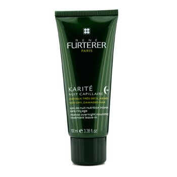 Rene Furterer Karite Intense Overnight Nourishing Treatment Leave-in (For Very Dry, Damaged Hair)  100ml/3.38oz
