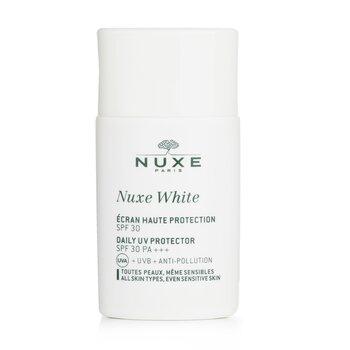 Nuxe Nuxe White Protector UV Diario SPF 30 (Para Todo Tipo de Piel & Pieles Sensibles)  30ml/1oz
