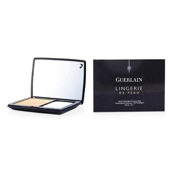 Guerlain Lingerie De Peau Nude Powder Foundation SPF 20 - # 32 Ambre Clair  10g/0.35oz