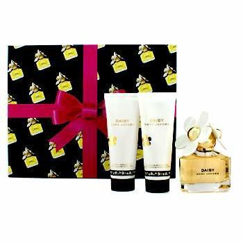 Marc Jacobs Daisy Coffret: Eau De Toilette Spray 50ml/1.7oz + Loci�n Corporal 75ml/2.5oz + Gel de Ducha 75ml/2.5oz  3pcs