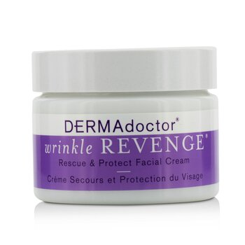 DERMAdoctor Wrinkle Revenge Rescue & Protect Facial Cream  50ml/1.7oz