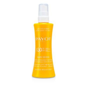 Payot Les Solaires Sun Sensi - Spray Protector Anti Envejecimiento Para Cuerpo (Resistente al Agua)  125ml/4.2oz