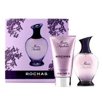 Rochas Muse De Rochas Coffret: Eau De Parfum Spray 100ml/3.3oz + Loción Corporal 150ml/5oz  2pcs