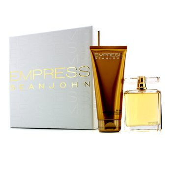 Sean John Empress Coffret: Eau De Parfum Spray 100ml/3.4oz + Krim Badan 200ml/6.7oz  2pcs