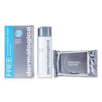 Dermalogica Essential Cleansing Solution (Free Gift: PreCleanse Wipes 10 Pack)  250ml/8.3oz