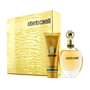 Roberto Cavalli Roberto Cavalli (New) Coffret: Eau De Parfum Spray 75ml/2.5oz + Loci�n Corporal 75ml/2.5oz  2pcs