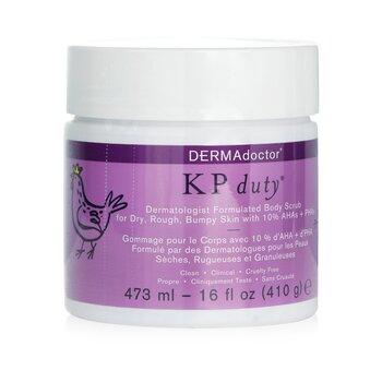 DERMAdoctor KP Duty Dermatologist Formulated Body Scrub  473ml/16oz
