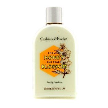 Crabtree & Evelyn English Honey & Peach Blossom Loción Corporal  250ml/8.5oz