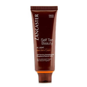 Lancaster Gel Facial Bronzeante Self Tanning Smoothing (Week End in Capri)  50ml/1.7oz