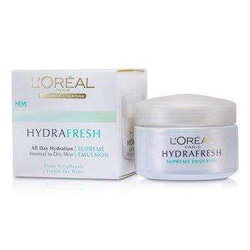 L'Oreal Hydrafresh All Day Hydration Emulsión Suprema  50ml/1.7oz
