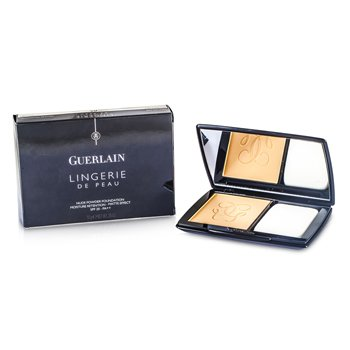 Guerlain Lingerie De Peau Nude Powder Foundation SPF 20 - # 03 Beige Naturel  10g/0.35oz