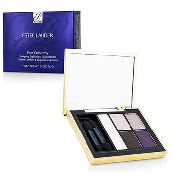 Estee Lauder Pure Color Envy Σκιά Ματιών Σμίλευσης 5 Χρωματιστή Παλέτα - 10 Envious Orchid  7g/0.24oz