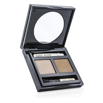 Bobbi Brown Set Cejas - # 01 Cement/ Birch  3g/0.1oz