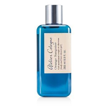 Atelier Cologne Żel do mycia ciała i włosów Orange Sanguine Body & Hair Shower Gel  265ml/8.9oz