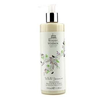 Woods Of Windsor White Jasmine Moisturising Hand & Body Lotion  350ml/11.8oz