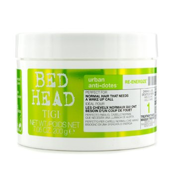 Tigi Máscara De Tratamento Bed Head Urban Anti+dotes Re-energize  200g/7.05oz