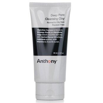 Anthony Jíl pro hloubkové vyčištění pórů Logistics For Men Deep Pore Cleansing Clay (normální až mastná pleť)  90g/3oz
