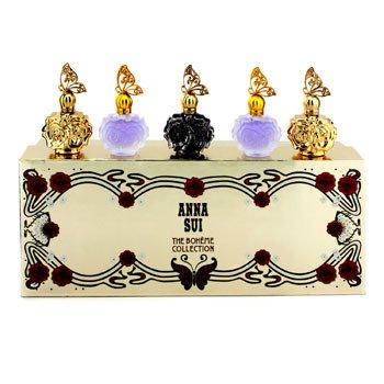 Anna Sui Kit The Boheme Collection: La Nuit De Boheme Eau De Parfum + 2x La Nuit De Boheme Eau De Toilette + 2x La Vie De Boheme Eau De Toilette  5x4ml/0.14oz