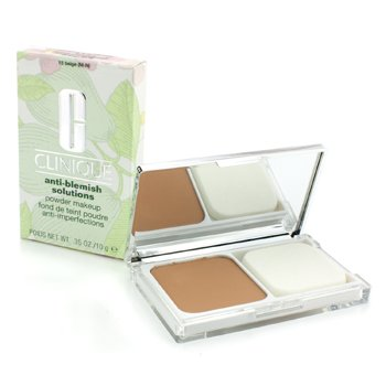 Clinique Pó Anti Blemish Solutions Makeup - # 15 Beige (M-N)  10g/0.35oz
