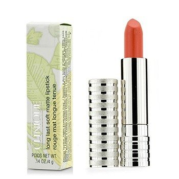 Clinique Long Last Lipstick - No. 46 Mandarin (Soft Matte)  4g/0.14oz