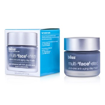 Bliss Multi-Face-Eted All-In-One Anti-Aging Clay Mask  65g/2.3oz