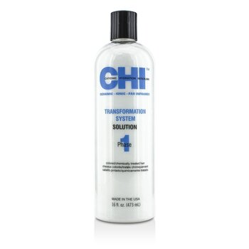 CHI Transformation System Phase 1 - Solution Formula B (Para Cabelo Com Química & Tingido)  473ml/16oz