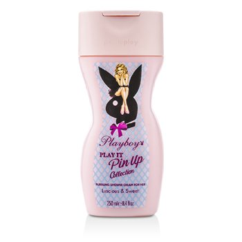 Playboy Play It Pin Up Crema Espumosa de Ducha  250ml/8.4oz