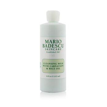 Mario Badescu Arctisztító tej szegfű és rizs olajjal 01018  472ml/16oz