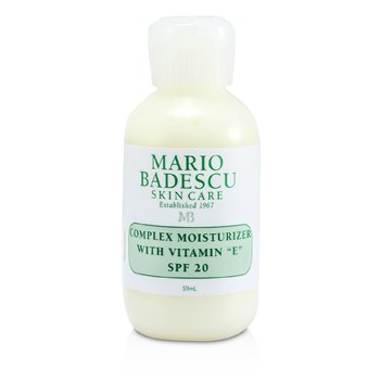 Mario Badescu Complex Moisturizer With Vitamin E SPF 20 - For Dry/ Sensitive Skin Types  59ml/2oz