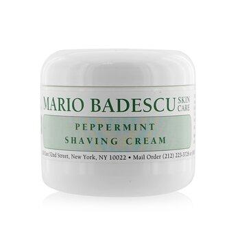 Mario Badescu Peppermint Crema para afeitar  118ml/4oz