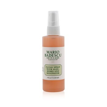 Mario Badescu Facial Spray With Aloe, Herbs & Rosewater - For All Skin Types  118ml/4oz