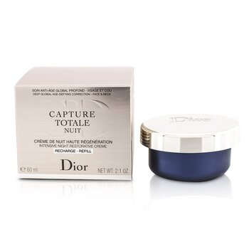 Christian Dior Creme Refil Capture Totale Nuit Intensive Night Restorative F060750999  60ml/2.1oz