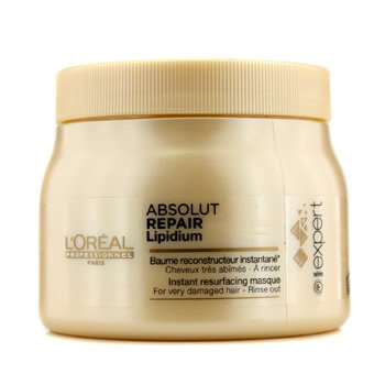 L'Oreal Professionnel Expert Serie - Absolut Repair Lipidium Instant Resurfacing Mascarilla (Para Cabello Muy Da�ado)  500ml/16.9oz