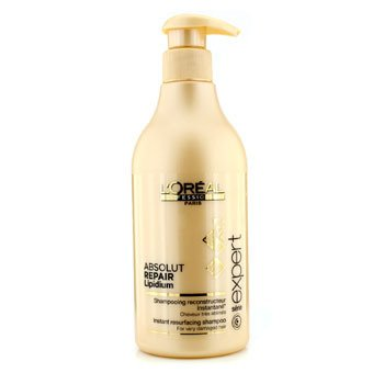 L'Oreal Professionnel Expert Serie - Absolut Repair Lipidium Instant Resurfacing Champ� (Para Cabello Muy Da�ado)  500ml/16.9oz