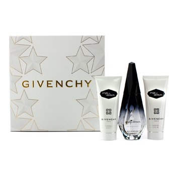 Givenchy Ange Ou Demon Coffret: Eau De Parfum Spray 50ml/1.7oz + Velo de Ba�o Sedoso 75ml/2.5oz + Gel de Ba�o Delicado 75ml/2.5oz  3pcs