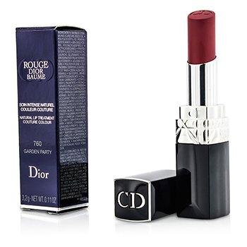 Christian Dior Batom Rouge Dior Baume Natural Lip Treatment Couture Colour - # 760 Garden Party  3.2g/0.11oz