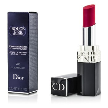 Christian Dior Rouge Dior Baume Tratamiento de Labios Natural Color Couture - # 788 Fleur Bleue  3.2g/0.11oz
