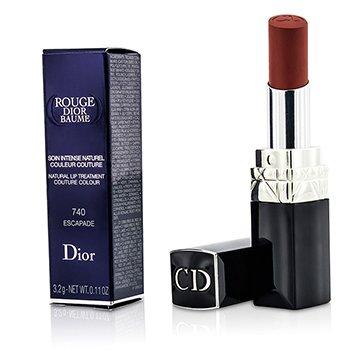 Christian Dior Rouge Dior Baume Doğal Dudak Bakımı Saf Moda Renk - #  740 Escapade  3.2g/0.11oz