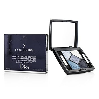 Christian Dior 5 Couleurs Couture Colours & Effects Paleta de Sombra de Ojos - No. 276 Carre Bleu  6g/0.21oz